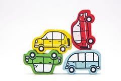 Pyramide de voiture. Images libres de droits
