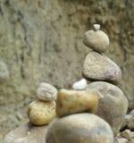 Pyramide de ZENES Stone Fotos de archivo libres de regalías