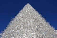 Pyramide delle sfere di PlastiÑ Fotografia Stock