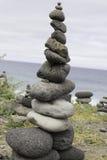 Pyramide der Steine Stockfotos
