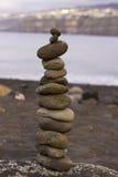 Pyramide der Steine Stockfoto