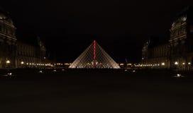 Pyramide des Luftschlitzes Stockfoto