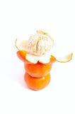Pyramide des mandarines Photo stock