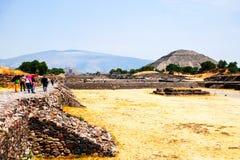 Pyramide des Mondes, Teotihuacan-Pyramiden, Mexiko Stockfoto