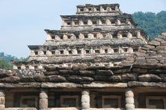 Pyramide des places, EL Tajin (Mexique) photos stock