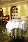 Pyramide des verres de vin, champagne Photos libres de droits