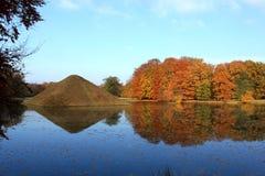 Pyramide en el parque del branitz Fotografía de archivo libre de regalías