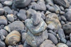 Pyramide en pierre Photographie stock libre de droits