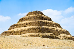 Pyramide faite un pas Photos libres de droits