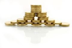 Pyramide financière Images stock