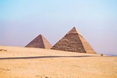 pyramide grande de giza Image libre de droits