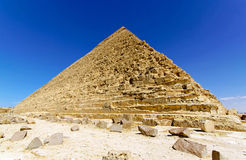 Pyramide of Kharfe Stock Images