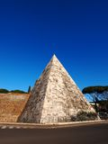 Pyramide in Rome Royalty Free Stock Image