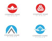 Pyramide logo and symbols template vector icons. Pyramide logo and symbols template vector Stock Photo