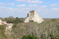 Pyramide maya du ` s d'Uxmal Photo stock