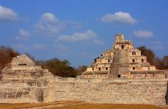 Pyramide mit fünf Stufen Lizenzfreies Stockbild