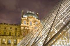 Pyramide pei des Luftschlitzes Lizenzfreies Stockfoto