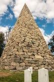 Pyramide Richmond de cimetière de Hollywood Photographie stock