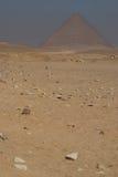 Pyramide rouge. Dahshur images libres de droits