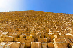 Pyramide side Royalty Free Stock Images