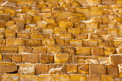 Pyramide stone blocks Royalty Free Stock Photo