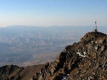 Pyramide sur l'alpe Photographie stock libre de droits