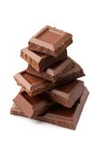 Pyramide van de chocolade Royalty-vrije Stock Fotografie