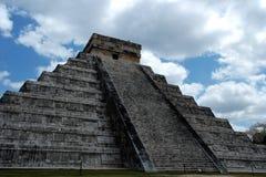 Pyramide von Chichen Itza Stockbild