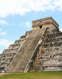 Pyramide von chichen itza, Mexiko Lizenzfreies Stockbild