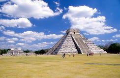 Pyramide von Kukulcan 2 Stockfotos