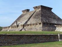 Pyramide von Tajin. Stockfoto