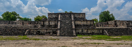 Pyramide von Teotihuacan Lizenzfreie Stockfotos