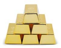 Pyramidegolde Lizenzfreie Stockbilder