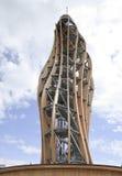 Pyramidekogel-Turm nahe Klagenfurt, Österreich lizenzfreie stockbilder