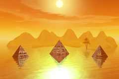Pyramiden vektor abbildung