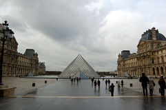 Pyramiden av Europa Arkivbilder