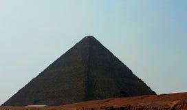 Pyramiden in der Wüste von Ägypten in Giseh Lizenzfreie Stockbilder