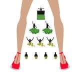 pyramiden för begreppet för bakgrund 3d framförde den finansiella isolerade white affärsmlm Nätverk royaltyfri illustrationer