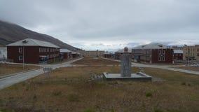 Pyramiden settlement. Svalbard Royalty Free Stock Image