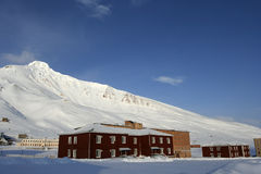 In Pyramiden, Svalbard. Royalty Free Stock Photography