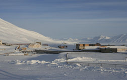 Pyramiden, Svalbard Royalty Free Stock Photography