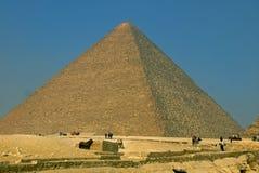 Pyramiden von Giza, Ägypten Lizenzfreies Stockfoto