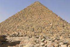 Pyramiden von Giza Große Pyramiden von Ägypten Das 7. Wunder der Welt Alte Megalithe Lizenzfreie Stockfotografie