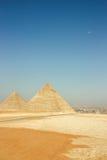 Pyramiden von Gizeh stockfotos