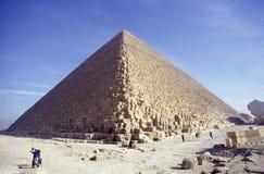Pyramiden von Gizeh Stockfoto