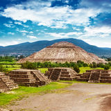 Pyramiden von Mexiko stockfoto