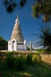 Pyramidenkirche in Krim Stockbild