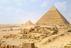 pyramider Royaltyfria Foton