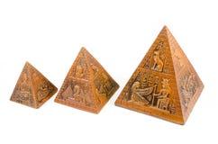 pyramider Royaltyfri Fotografi