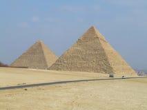 pyramider Royaltyfri Foto